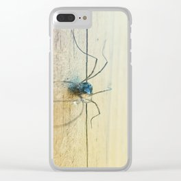 spidey droplet Clear iPhone Case