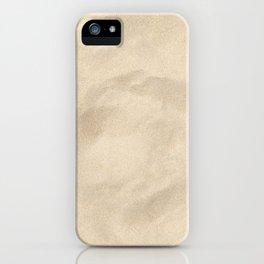Light Brown Sand texture iPhone Case