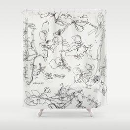 Botanical Bold Shower Curtain