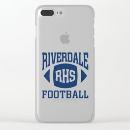 Riverdale - Football Team Clear iPhone Case