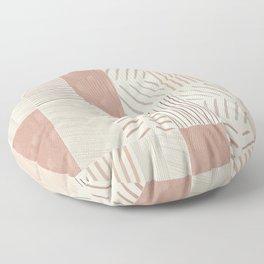 Rustic Tiles 02 Floor Pillow