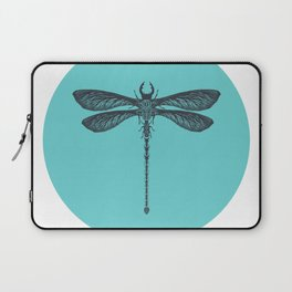 Dragonfly made of beetles, ants and sycamore seed pods Laptop Sleeve