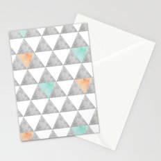 Tri-angle Stationery Cards