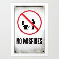 Misfire Art Print