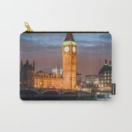 London after sunset Carry-All Pouch