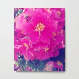 Fleur Bomb Metal Print