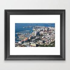 Gibraltar Framed Art Print