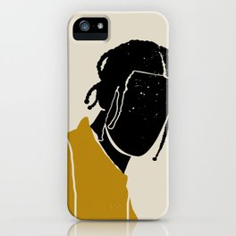 Black Hair No. 1 iPhone Case