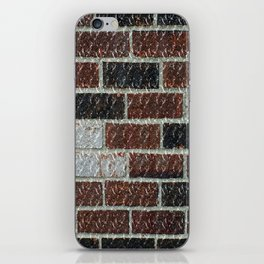 Multi-Color Marble Brick Texture iPhone Skin