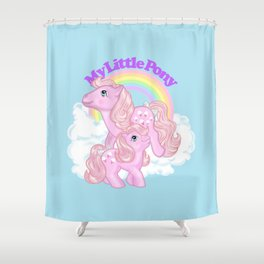 g1 my little pony Lickety Split and Baby Shower Curtain