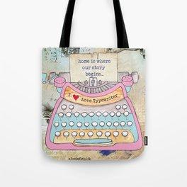 Typewriter #5 Tote Bag