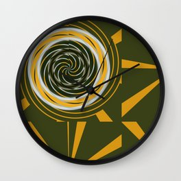 Abstract about Kandinsky Wall Clock
