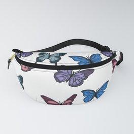 Pastel Aesthetic Butterflies Fanny Pack