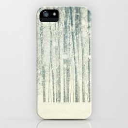 Blizzard iPhone Case