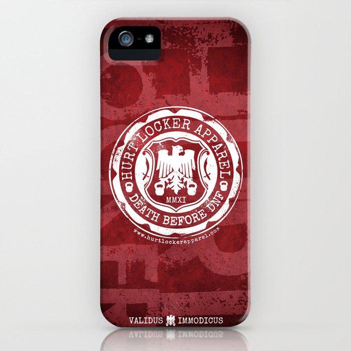 Hurt Locker Apparel - D.N.F. iPhone Case iPhone Case