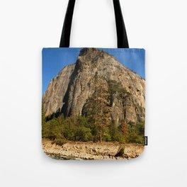 Peaceful Yosemite Valley Scene Tote Bag