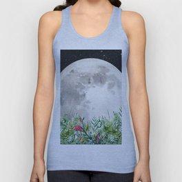 Night Garden Moon Magick Unisex Tank Top