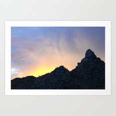 Arizona Sunset Art Print