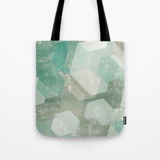 Honeycomb Abstract Tote Bag