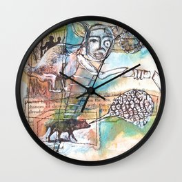 Chances of Drowning Wall Clock