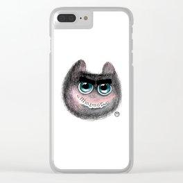 Pal-Cat Clear iPhone Case