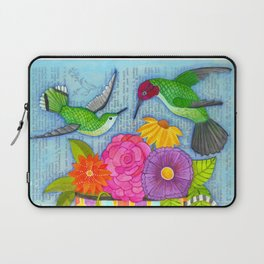 hummingbird tea Laptop Sleeve