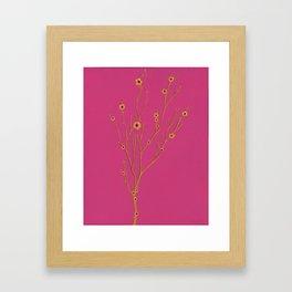Girly Girl Framed Art Print