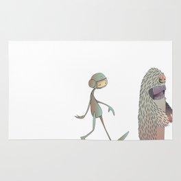 Space Yeti Rug