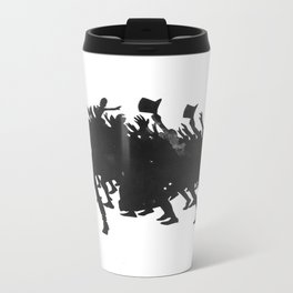 Zinc Silhouette For The Chat Noir Cabaret Shadow play L'Épopée  Travel Mug