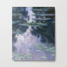 Water Lilies (Nympheas) by Claude Monet, 1907 Metal Print