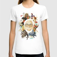 miyazaki T-shirts featuring Miyazaki-San by Danny Haas
