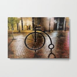 Six Into One Metal Print
