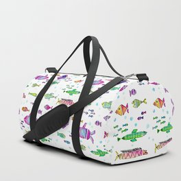 Catch All the Fish Duffle Bag