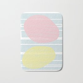 Pastel Vibes #society6 #abstractart Bath Mat