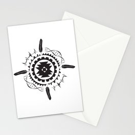 Native Amrican STEM Mandala Southwestern Stationery Cards