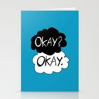 okay Stationery Cards featuring Okay? Okay.  by Tangerine-Tane