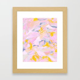 Reconstructed Framed Art Print