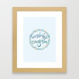 Wonderful Counselor - Isaiah 9:6 Framed Art Print