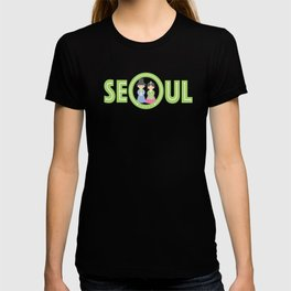 Seoul - Koreans in Traditional Costumes T-shirt