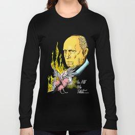 Flamin' Galah! In Alf We Trust Long Sleeve T-shirt