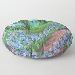 Monet's Garden AC20110715a Floor Pillow