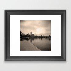 Charles River Lagoon View 2 Framed Art Print