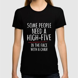 Need a high five - clamp, slap T-shirt