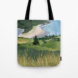 View from Cascade Head Tote Bag