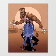 LOGAN Canvas Print
