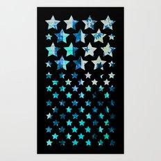 NYC STARS Art Print