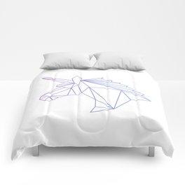 Unicorn Blue-Purple Comforters