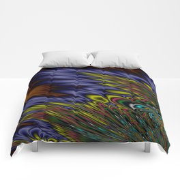 Fractal Dream Comforters