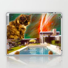 Cuddle Unit 5 with Midcentury Nebula Laptop & iPad Skin
