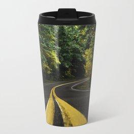 new england road Travel Mug